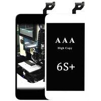 3 sztuk Dla iphone 6 s plus wyświetlacz lcd wysokiej kopiowania AAA dla iPhone Ekran Dotykowy LCD digitizer Z 3D panel Zgromadzenie Black & White