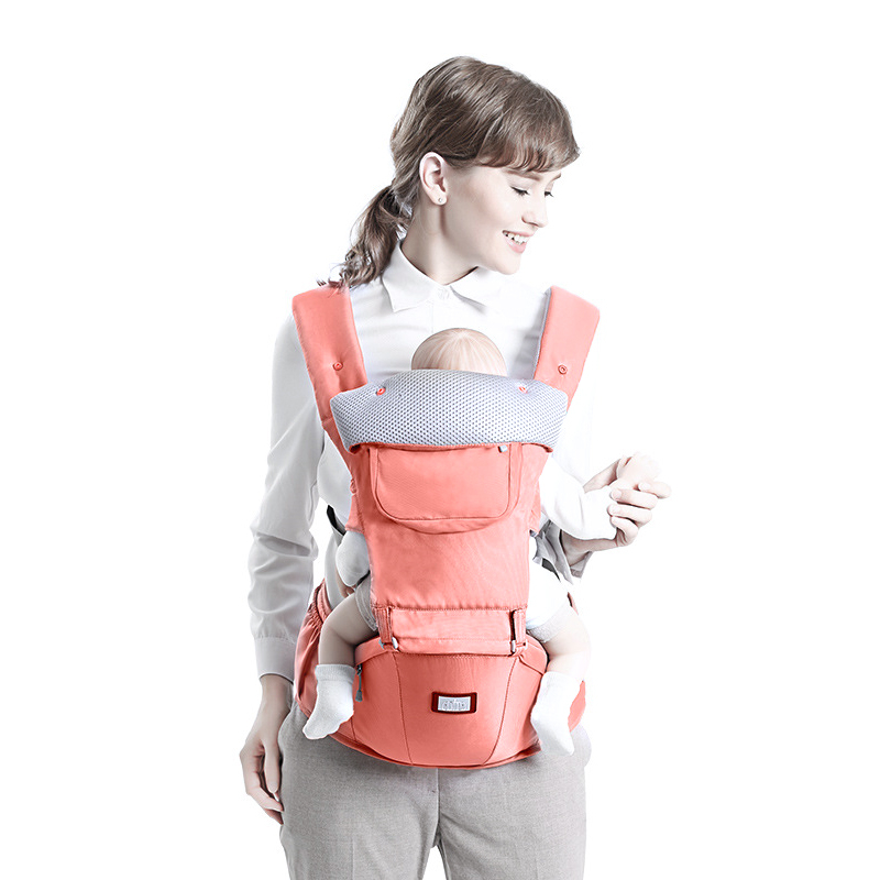 Baby Carrier Hip Seat 2 in 1 Cotton Infant Backpack for Babies Kids Shoulders Carry Baby Sling ergo baby carrier performance