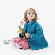 Children Girl's Outwear jacket Coats girl warm trench coat 2016 Autumn Winter outfit For Girls Kids Casual Warm Thick Jackets