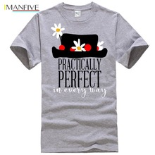 Mary Poppins Practically Perfect In Ever - Every Way Popular Tagless Tee T-Shirt недорого