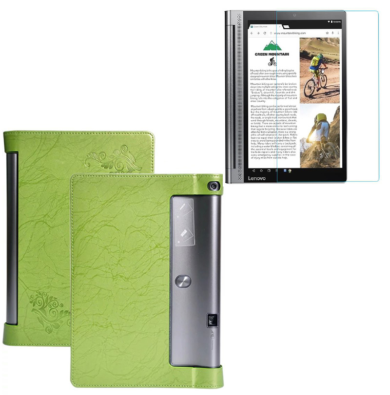 1x Screen Protector , Printing Folio Stand Prints Flower Leather Case Cover For Lenovo Yoga Tab3 Plus 10.1 YT-X703F Tab 3 X703L luxury pu leather cover case for lenovo yoga tablet2 830f tablet cover case for yoga tab3 850f case screen protector stylus pen