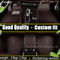 Custom Fit Car Floor Mats For Jeep Grand Cherokee Wrangler Commander Compass Patriot 3D Car Styling
