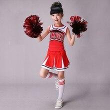Children Cheerleading Costume Aerobics Dance Skirt Boys and Girls