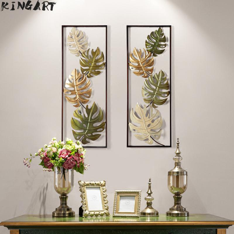 Retro Vintage Light Iron Wall Plaque Home Decorative Antique Metal Wall Art Decor 3d Picture Frame Metal Wall Art