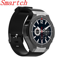 Smartch IP68 Waterproof H2  Smart Watch MTK6572 1.4inch 400*400 GPS Wifi 3G Heart Rate Monitor 1GB+16GB For Android IOS 500W