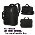 Mlti-Function Man 15.6Laptop Backpack/Briefcase/Shoulder Bag Notebook Handbag Travel Bag Waterproof Nylon For Macbook Pro Air Hp