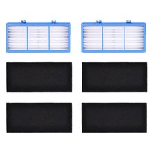 2 HEPA Filter Replacement + 4 Charcoal Booster Pre for Holmes AER1 Series HAPF30AT Air Purifier Filters HAP242-NUC
