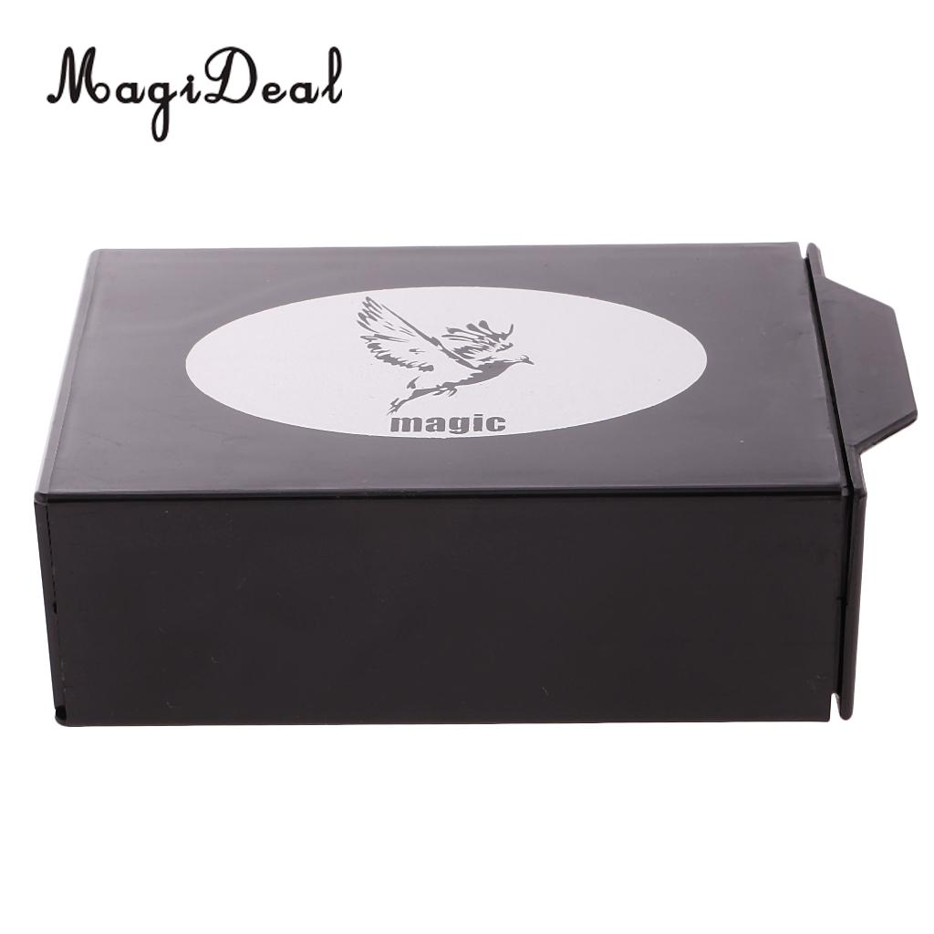 MagiDeal Professional 1Pc Secret Magic Tricks Prop A Mysterious Box Objects Disappear fo ...