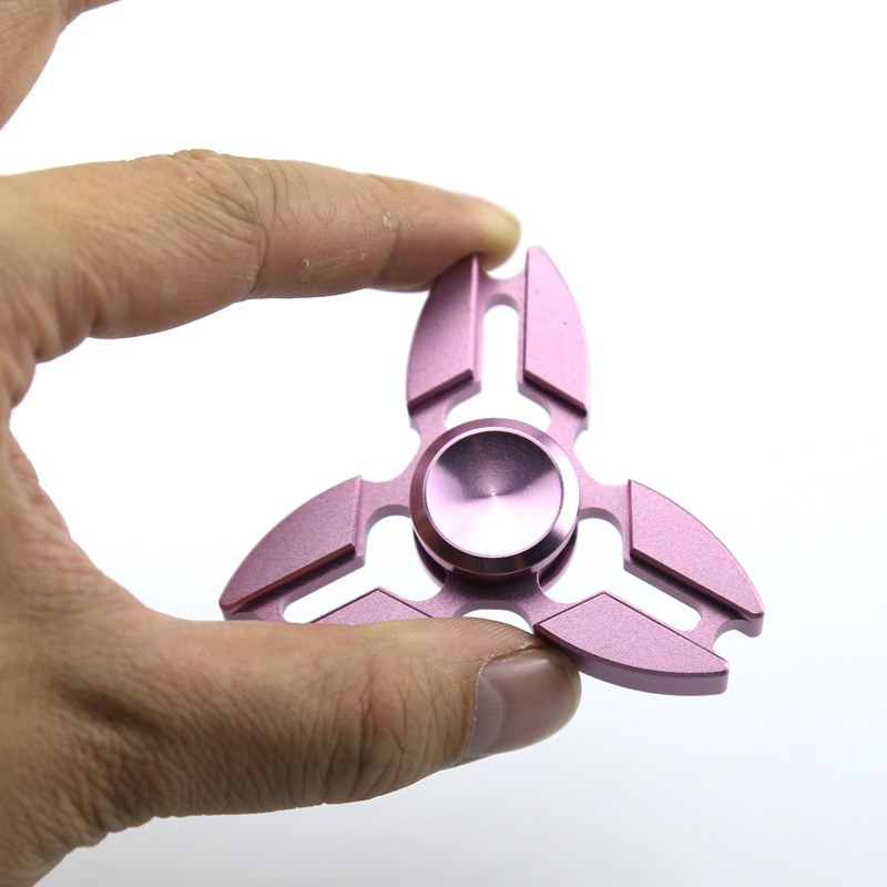 Hand Spinner Fidget Spinner Toy Metal Tri-Spinner Spinning Stress EDC Toys For Autism and ADHD