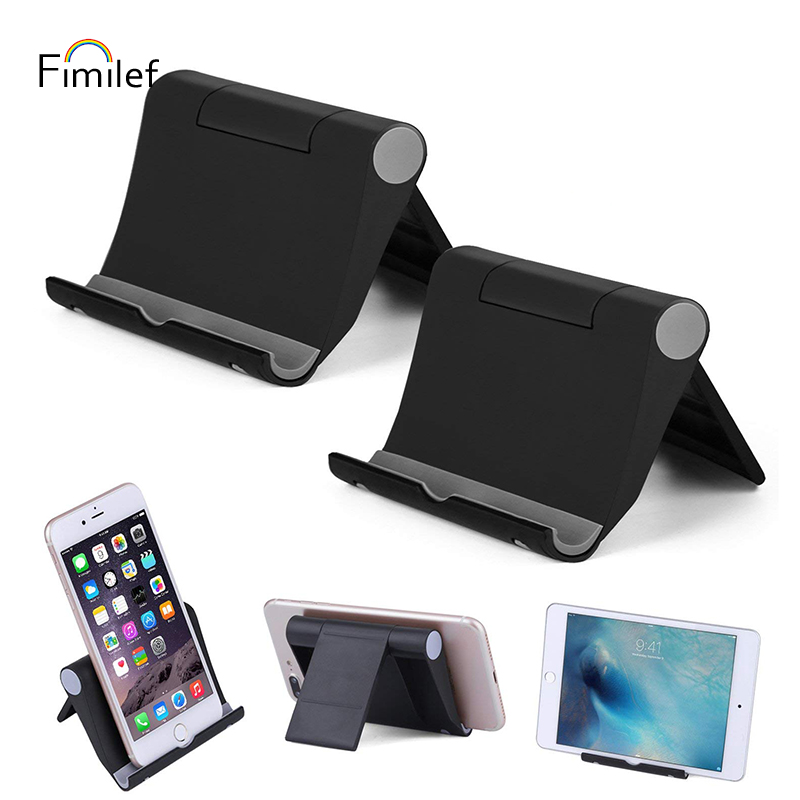 Fimilef Desktop Phone Holder Stand Flexible Folding Mobile Phone Stand General Bracket for iPhone for Xiaomi Cell Phone Tablet (1)