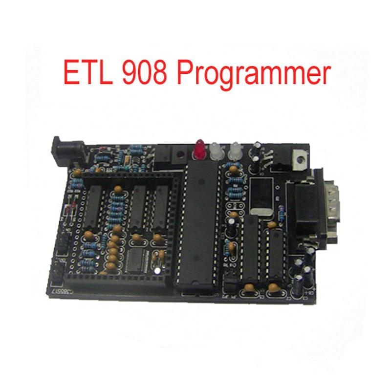 лучшая цена MC68HC908AZ60 MC68HC05H12 Programmer ETL 908 Programmer Auto ECU Programmer in Good Selling