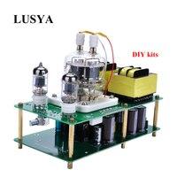 Lusya HiFi Собранный 6J1 + FU32 Однополярный ламповый усилитель аудио Мощность Amp совета 85 264Vac DIY комплекты