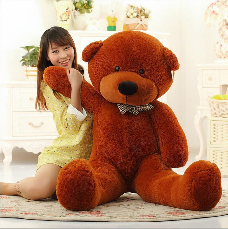 200cm 78'' Kawaii Giant Teddy Bear Soft Stuffed Animals Plush Toys Gift for Birthday Valentine Christmas Anniversary Juguetes archie giant comics 75th anniversary book
