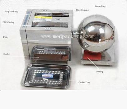 HK-88B Multi-function Pill Making Machine Pill Maker for large pill