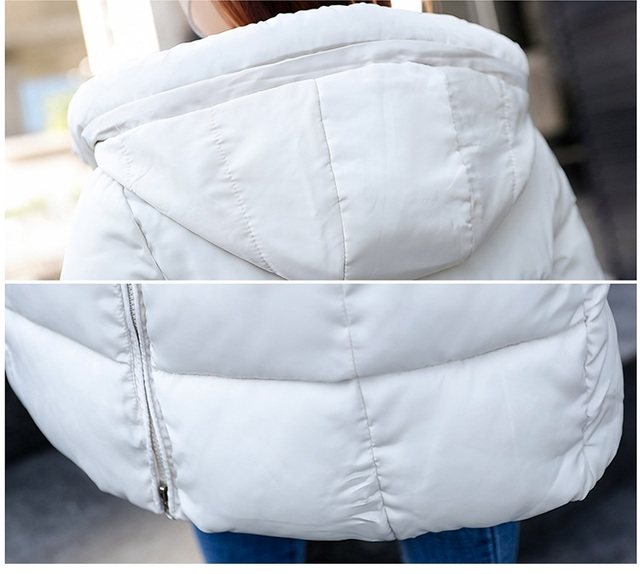 Plus size 6XL Down jackets 2018 Fashion Women Winter Coat Long Slim Thicken Warm Jacket Down Cotton Padded Jacket Outwear Parkas 5