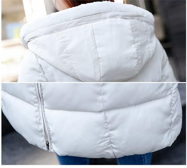 Plus size 6XL Down jackets 2018 Fashion Women Winter Coat Long Slim Thicken Warm Jacket Down Cotton Padded Jacket Outwear Parkas