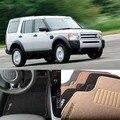 5PCS Premium Auto Fabric Nylon Anti-slip Floor Mats Carpet For Discovery 3 2005-2009