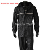 0cd3ad72235 MEIBIN raincoat rainstorm suit Motorcycle Raincoats pants outdoor work fishing  raincoat jacket Plus Size thicken Waterproof