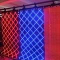 Leeman Full Color Curtain display Usage transparent p12.5 led display/soft LED screens/flexible curtain