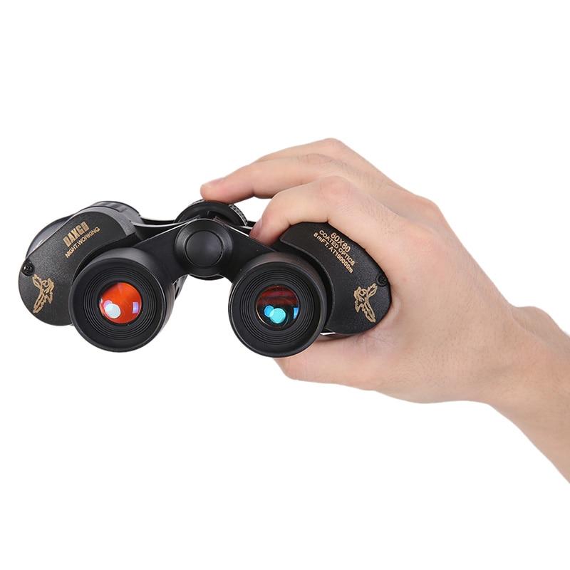 Telescope 60x60 Outdoor Coated Optics Day/ night Vision Working Hunting Military High-Powered Binoculars Anti-fog HD