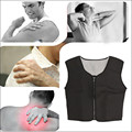 Self Heating Magnetic Therapy Vest Waistcoat Protector Neck Shoulder Support Brace Massage Health Care M Size