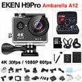 EKEN H9 Pro Action camera ultra 4K / 30fps Ambarella A12 3840*2160 remote WiFi pro Helmet Cam go H9Pro waterproof Sport camera