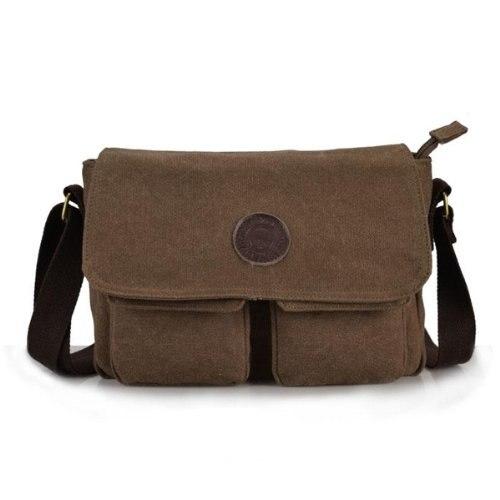 ASDS Men Handbag Bag Satchel Shoulder Cross Body Messenger Casual Coffee hot vintage men canvas satchel casual cross body messenger shoulder bag