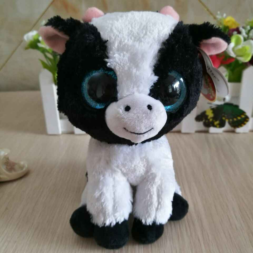 2ebaef7d3f5 butter cow cattle TY BEANIE BOOS COLLECTION 15CM 6