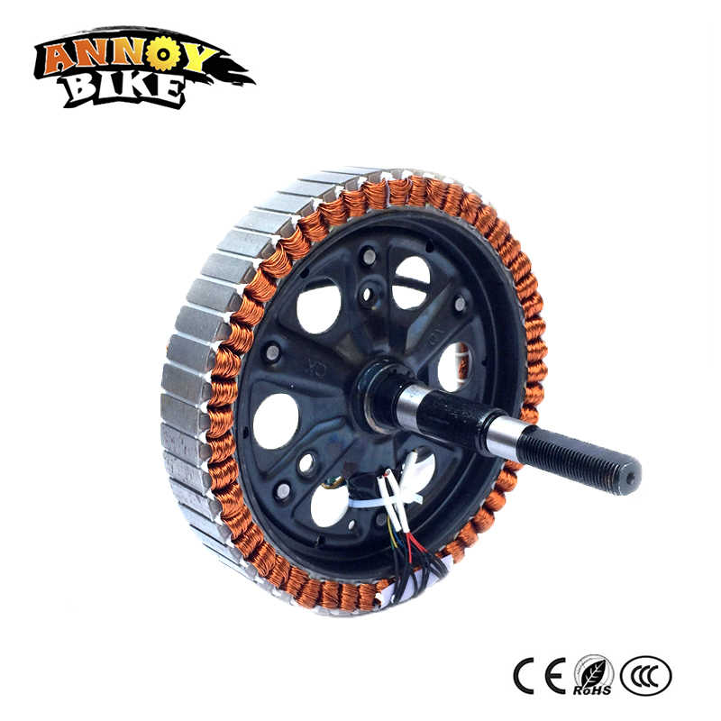 Bicicleta Electrica Motor Spindle Brushless 48V350W500W800W 192x23 198x30 Ebike Motor Bikini Electric Bicycle