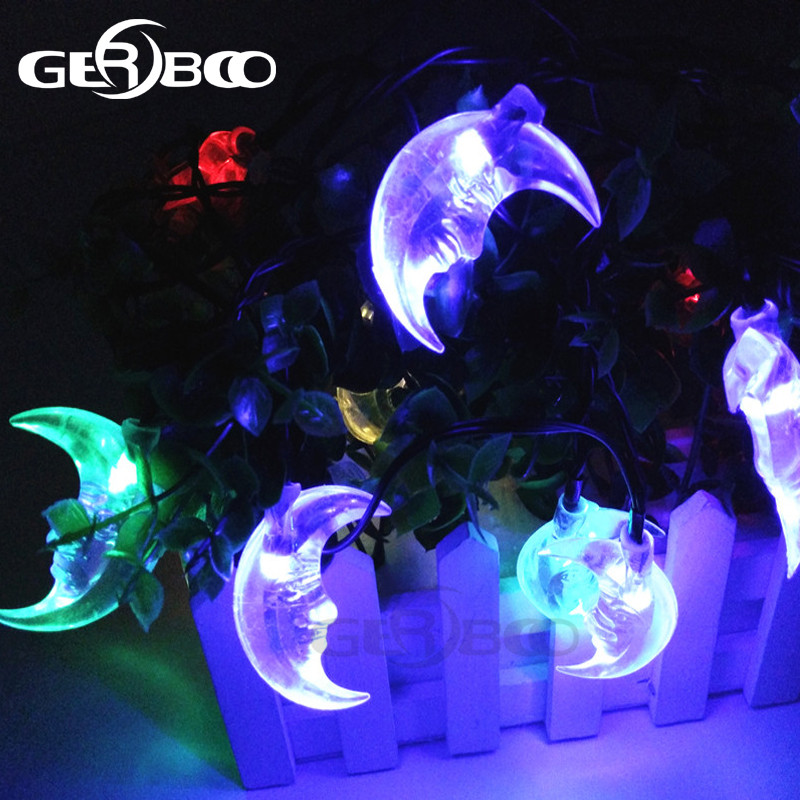 Solar powered led outdoor string lights led moon solar string solar powered led outdoor string lights led moon solar string christmas lights with sensor in solar lamps from lights lighting on aliexpress alibaba workwithnaturefo