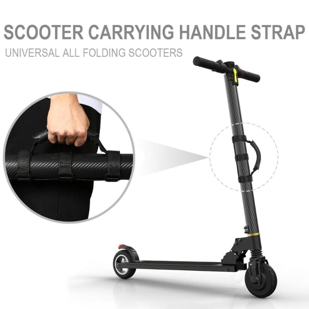 ABS Hand Carrying Handle Band Shoulder Strap Belt For for Xiaomi M365 pro ninebot ES1 ES2 ES3 ES4 Scooter Accessories image