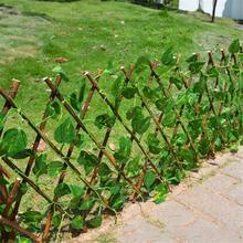 Искусственное садовое ограда из растений с защитой от ультрафиолетовых лучей экран Уличная Для использования в помещении садовое ограждение для двора домашний декор зелени стены
