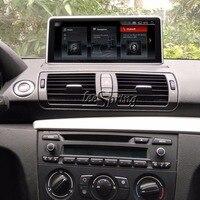 Оригинальный автомобиль Экран обновить мультимедийный плеер для BMW 1 серии E87 E88 E81 E82 2004 2011 Android Системы в автомобиле gps навигатор