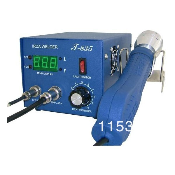 Welding Equipment Cooperative Dhl Free Shipping Brand New Puihui T-835 Irda Infrared Soldering Rework Station Electric Soldering Irons