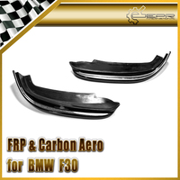 Car Styling For BMW F30 Real Carbon Fiber Front Lip Splitter In Stock
