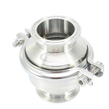 304 Food Hygiene Stainless Steel pressure Quick-loading Check Valve/One-way Valve/ Quick Check Valve ford eoaz 7e195 b ball check valve