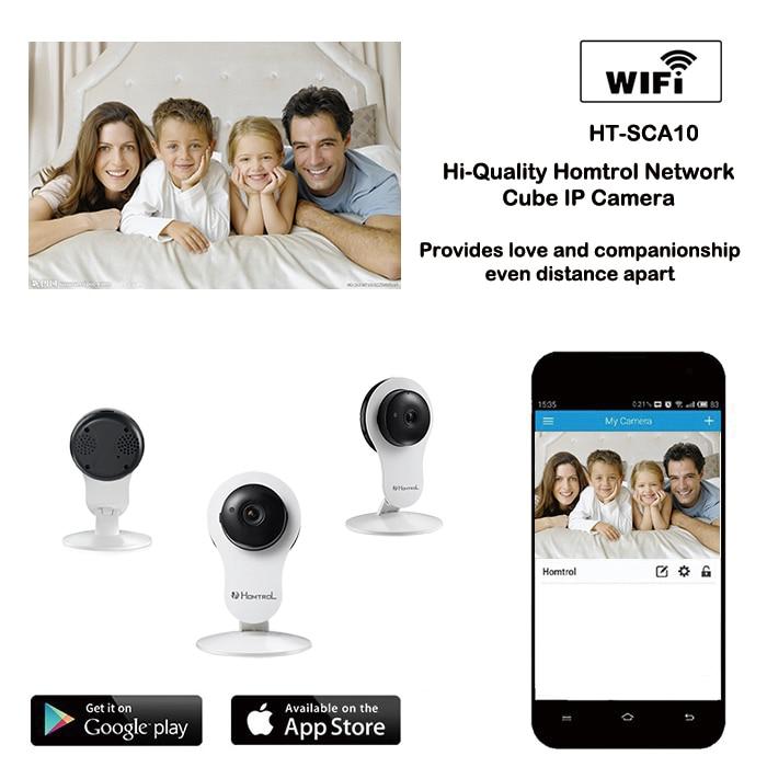 где купить  Cube IP camera wifi 720P Megapixels Real time with ONVIF p2p plug play Wirelss WIFI ip camera HOME security camera  по лучшей цене