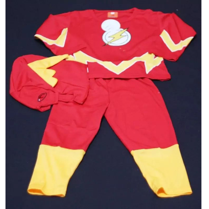 Kids Boys The Flash Cos Clothes Sets Children Fantasy Clothing In