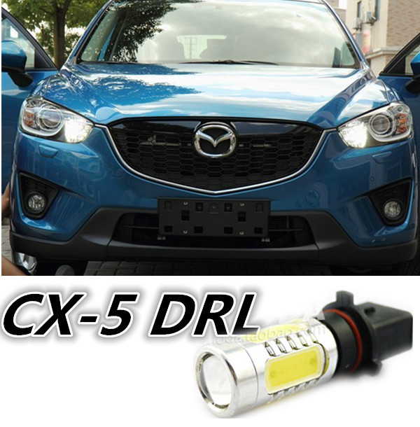 Cheetah FREE SHIP 2pcs P13W High Power Car daytime running lights Super Bright7.5W LED 360degrees  with lens for MazdaCX-5 bulbs the cheetah girls the cheetah girls 2 special edition soundtrack cd dvd
