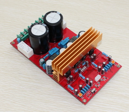IRS2092 Class D ( dual-channel ) amplifier board (300W +300 W),Using original IRS2092, IRFI4019 xxi