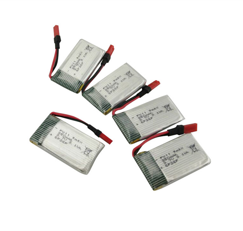Four-axis aircraft model aircraft battery SYMA X54HW X54HC remote control helicopter accessories 5PCS 3.7V 850mah battery four axis aircraft lithium battery accessories for udi u842 u842 1 u818s helicopter 3pcs battery and 6 in 1 charger