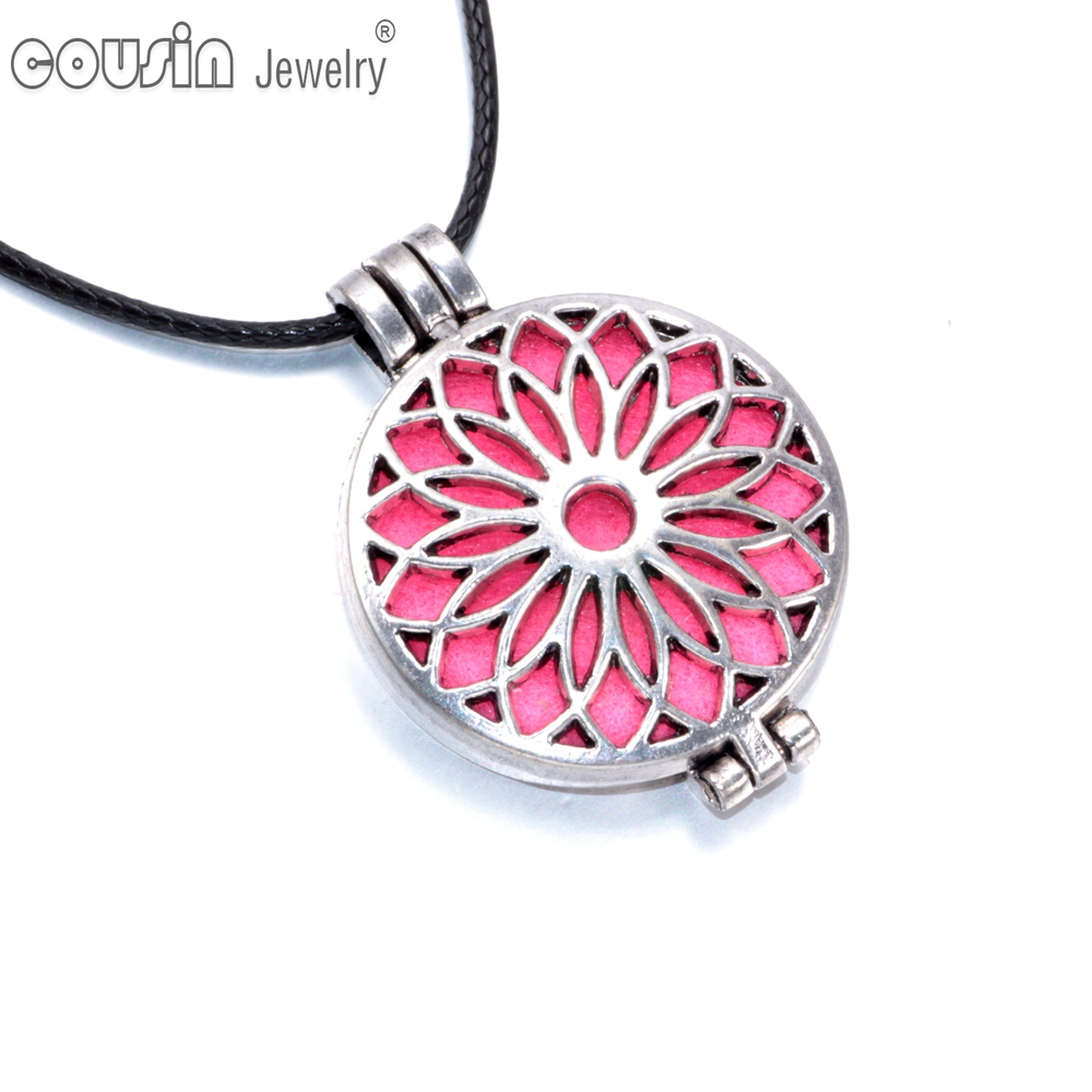 aromatherapy necklace diffuser pendant promotion shop for promotional aromatherapy necklace