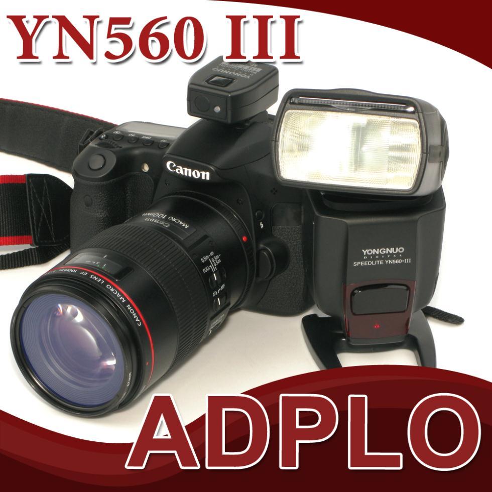 Yongnuo YN-560III Flash Speedlite LCD Screen Suit For Nikon /Canon /Pentax /Olympus/Canon 5D Mark II 7D