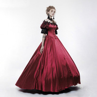 Century Duchess Retro Medieval Renaissance Reenactment Theatre Civil War Victorian Dress