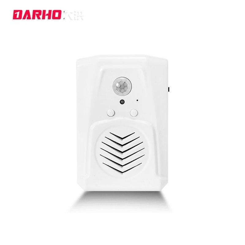 bilder für DARHO Willkommen Chime Shop Willkommen Türklingel Infrarot Sensor Aktiviert Sound Voice Erinnerung Bidirektionale Infrarot-detektor