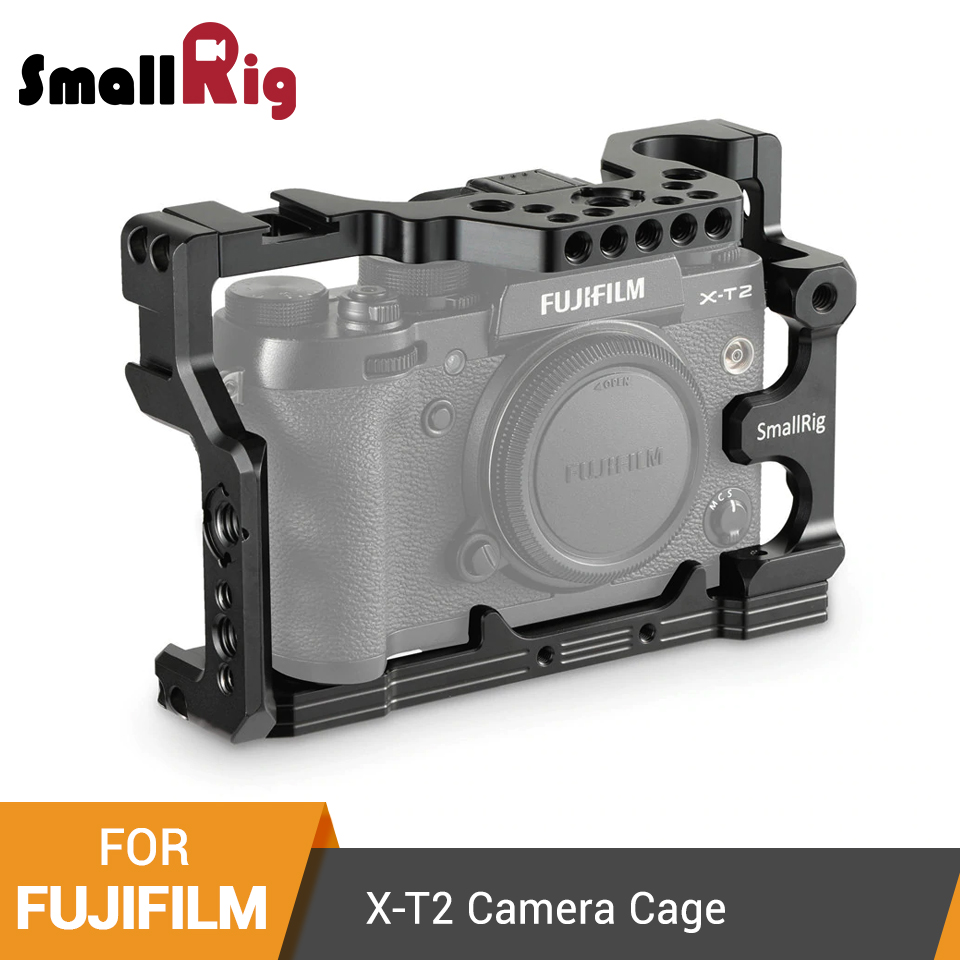SmallRig For Fuji X T2 Form fitting Cage for Fujifilm X T2 Camera Cage With Cold