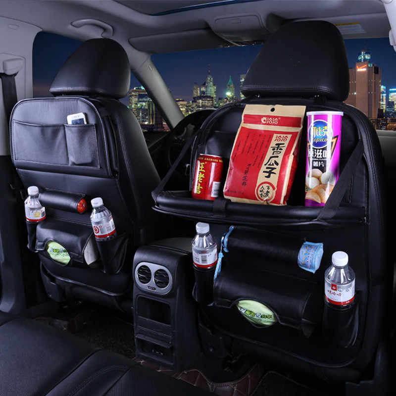 سيارة المقعد الخلفي تخزين حقيبة للطي شنقا الطعام الجدول أكياس ل اند روفر فريلاندر 2 رينج روفر 3 الرياضة x9 إيفوك discoveri