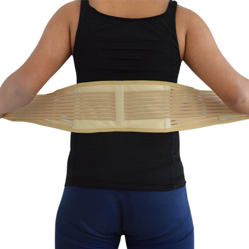 Back Waist Support Brace Tourmaline Self-heating Lumbar Brace Support Belt Magnetic Therapy Waist Support Release Pain