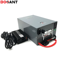 Voor Originele SANYO 18650 Lithium batterij 12 V 200Ah 250 w voor Elektrische Scooter/EV/Energie opslag/ zonnestelsel met 10A Charger-in Elektrische Fiets batterij van sport & Entertainment op