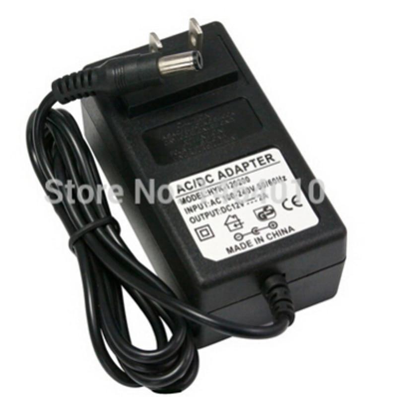 100 см 2A 12 В США ЕС Великобритания АС шнур Питание трансформатор для RGB белый 5050 3528 Светодиодные ленты свет рождественские украшения